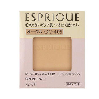 ESPRIQUE - エスプリーク ピュアスキン パクト UV OC-405 オークル(9.3g)