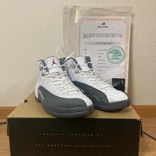 NIKE - Air Jordan 12 Dark Grey
