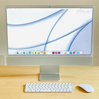 Mac (Apple) - Apple 24インチ iMac M1チップ搭載 2021年モデル 新品同様