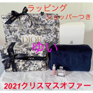 ディオール(Dior)のディオールアディクトクリスマスオファー2021ホリデーコフレ限定品新品未使用(ポーチ)