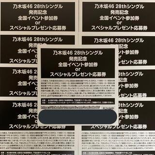 乃木坂46 - 乃木坂46 応募券 参加券 イベント 君に叱られた