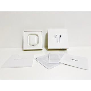 Apple - 【正規品】AirPods 第二世代