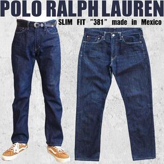 ポロラルフローレン(POLO RALPH LAUREN)の◎POLO RALPH LAUREN◎ラルフローレン◎メキシコ製◎スリムフィット(デニム/ジーンズ)