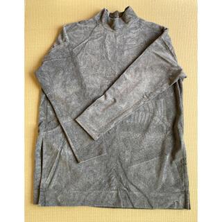 ベイフロー(BAYFLOW)のベイフロー 長袖カットソー グレー ハイネック フリーサイズ(ニット/セーター)