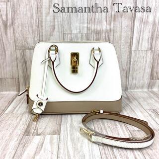 サマンサタバサ(Samantha Thavasa)のSamantha Tavasa サマンサタバサ レザー2wayバッグ 10-15(ショルダーバッグ)