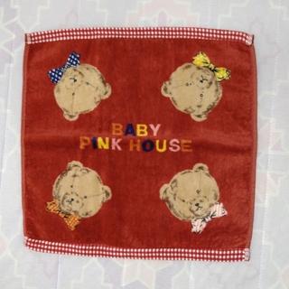 ピンクハウス(PINK HOUSE)のPINK HOUSE ウォッシュタオル(タオル/バス用品)