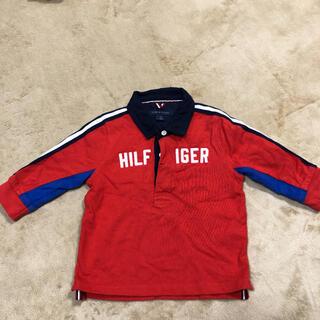 トミーヒルフィガー(TOMMY HILFIGER)のポロシャツ 長袖 トミーヒルフィガー   12M(シャツ/カットソー)