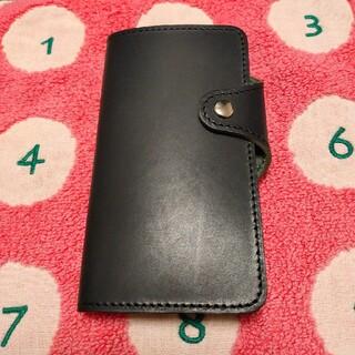 iPhone - iPhone 7/8/SE2 手帳型ケース 日本製 本革 新品未使用