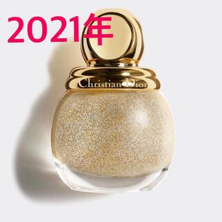 ディオール(Dior)のディオリフィック グリッター トップ コート クリスマス コレクション 2021(マニキュア)
