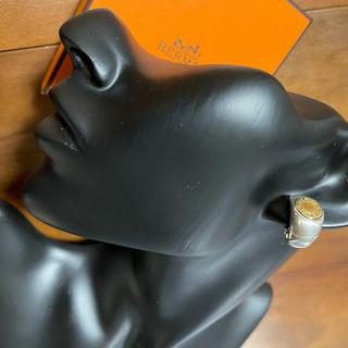 Hermes - エルメス セリエ 18kシルバー コンビ イヤリング シャネル ロロピアーナ