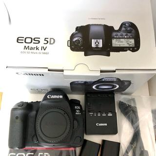 Canon - Canon EOS 5D Mark4 フルサイズ一眼付属品あり CFカードおまけ