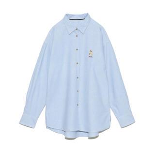リリーブラウン(Lily Brown)のリリーブラウン LilyBear刺繍シャツ シャツ(シャツ/ブラウス(長袖/七分))