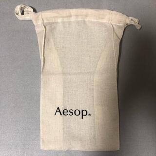 イソップ(Aesop)のaesop コットン 巾着 イソップ(ショップ袋)