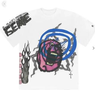 FRAGMENT - cactus jack fragment tシャツ  XL travis