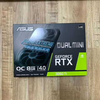 ASUS - 【新品未開封】ASUS DUAL-RTX3060TI-O8G-MINI-V2