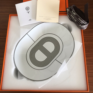 エルメス(Hermes)のエルメス食器 エルメスラリー24 オーバルプレート(食器)