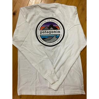 patagonia - New パタゴニア 白 ロングTシャツ M