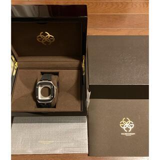 Apple Watch - 完売品 ゴールデンコンセプト アップルウォッチケース シルバー ブラック40mm