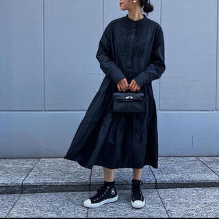 Drawer - Machatt マチャット タキシードシャツワンピース ドレス 黒