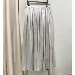 レプシィム(LEPSIM)のLEPSIM シャイニーサテンスカート(ロングスカート)