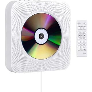 CDプレーヤー 置き&壁掛け式 1台多役 プルスイッチ式