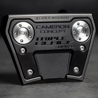 スコッティキャメロン(Scotty Cameron)のPHANTOM X 9.5 TRIPLE BLACK LIMITED 34インチ(クラブ)