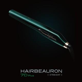 リュミエールブラン(Lumiere Blanc)のヘアビューロン 7D Plus ストレート(ヘアアイロン)