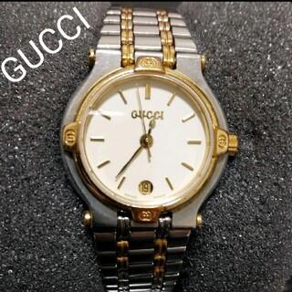 グッチ(Gucci)のGUCCI 正規品 スイス製 腕時計 レディース クォーツ 美品(腕時計)