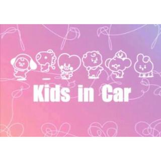 BTS カッティングステッカー kids in car