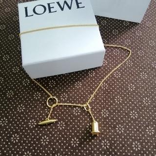 LOEWE - 素敵! ロエベ ✿LOEWE ネックレス ゴールド