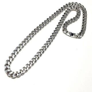 騎兵ネックレス メンズ シルバー チェーン ネックレス メッキ 70cm