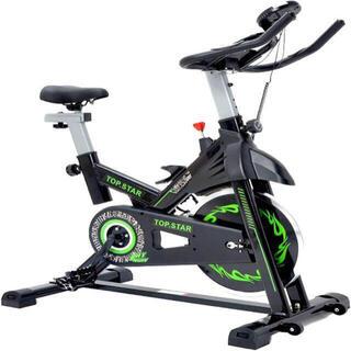 静音 マグネットスピンバイク フィットネスバイク エアロバイク