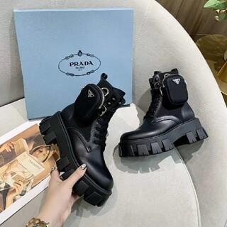 プラダ(PRADA)のPrada美しいブーツ(ブーツ)