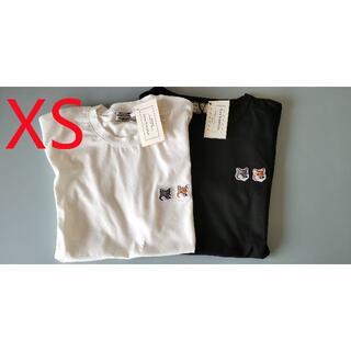 MAISON KITSUNE' - 新品 MAISON KITSUNE  メゾンキツネ Tシャツ2点セット.