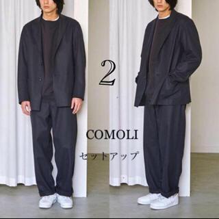 COMOLI -  COMOLI コモリ フェルトン セットアップ