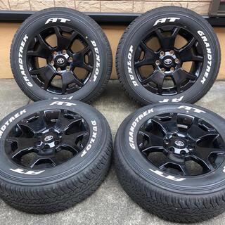 トヨタ - 美品 バリ山 ハイラックス ブラックラリーエディション 純正  ホイールプラド