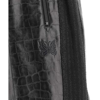 Needles - ニードルズ Needles aux Leather Pants Black