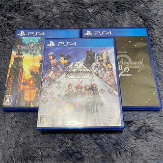 PlayStation4 - キングダムハーツ 3点セット