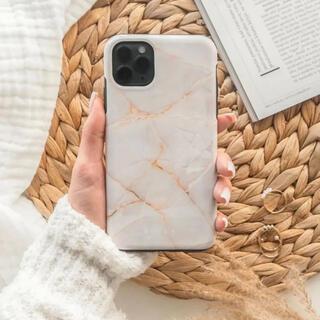BURGA バーガ ブルガ iPhone アイフォン XS ケース 大理石調新品(iPhoneケース)