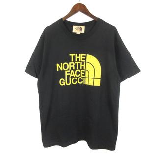 グッチ(Gucci)のグッチ  ザノースフェイス 21SS コラボ Tシャツ 半袖 ロゴ プリント(Tシャツ/カットソー(半袖/袖なし))