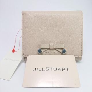 ジルスチュアート(JILLSTUART)の【新品タグ付き】ジルスチュアート 二つ折り財布 ピンク(財布)