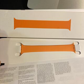 Apple - Apple 純正 ソロループ 44mm size7 オレンジ