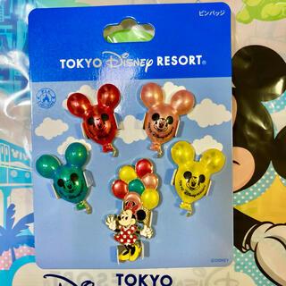 Disney - ディズニー バルーン ピンバッジ レトロ ミニー