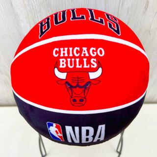 NBA ボールクッション  バスケットボール シカゴ ブルズ