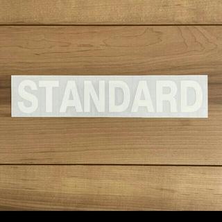 スタンダード 二点セット 10センチ アウトドア カッティングステッカー