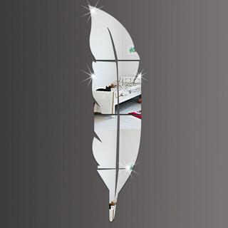 ミラー ウォールステッカー 割れない鏡 DIY 壁鏡(壁掛けミラー)