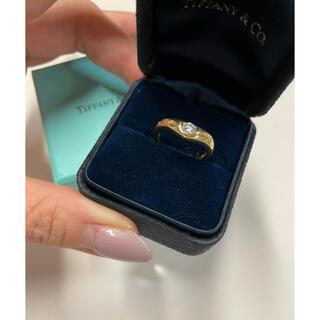 Tiffany & Co. - ティファニー カーブド ダイヤモンドリング