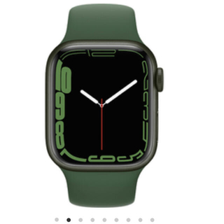 Apple Watch - Apple Watch Series 7GPS41mmグリーンアルミニウムケース