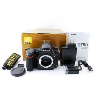 Nikon D750 一眼レフ ボディ(コンパクトデジタルカメラ)