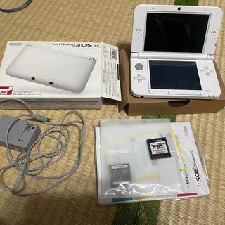 任天堂 - Nintendo 3DS  LL 本体 中古 おまけソフト有